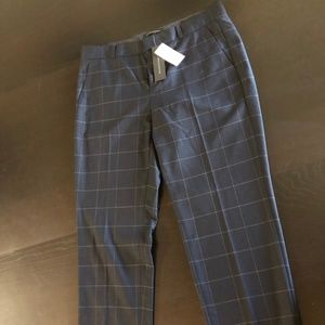 Banana Republic Navy Purple Avery Pants